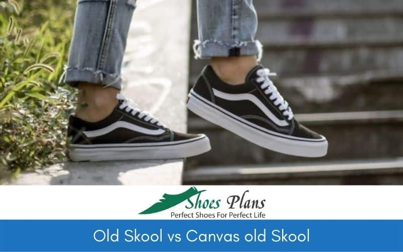 Old Skool vs Canvas old Skool