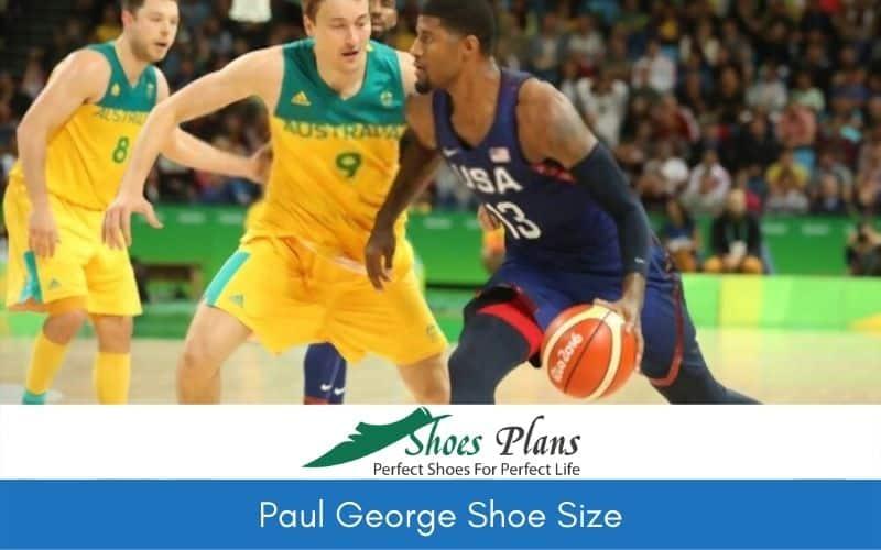 Paul George Shoe Size